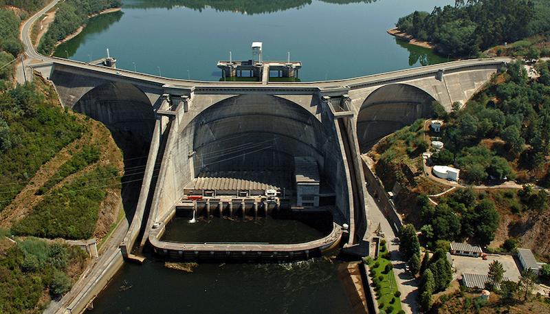 Image of the Aguieira Dam